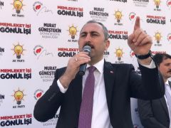 """Adalet Bakanı Gül: """"Evinizin önüne çukur kazanlara oy vermeyin"""""""