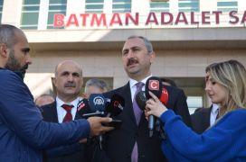 Adalet Bakanı Gül Batman'da