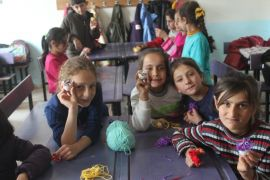 Köy okulunda tasarım ve beceri atölyeleri açıldı