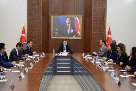 Kozluk'ta ilçe idare şube başkanları toplantısı yapıldı