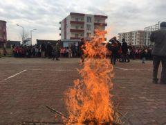 Kozluk'ta öğrencilere yönelik yangın tatbikatı