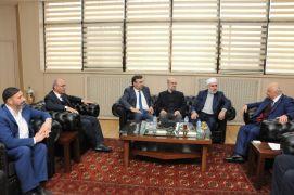 STK temsilcilerinden Rektör Durmuş'a ziyaret