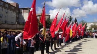 Gercüş'te 23 Nisan Ulusal Egemenlik ve Çocuk Bayramı coşkuyla kutlandı