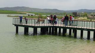 Gercüşlüler, Kırkat göleti etrafında toplandı