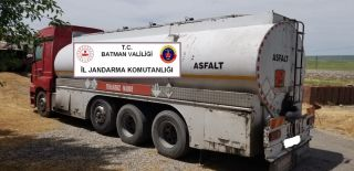 Batman'da 400 bin lira değerinde kaçak petrol türevi ele geçirildi