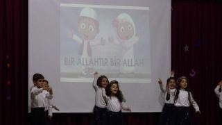 Gercüşlü minik öğrencilerden yıl sonu etkinliği