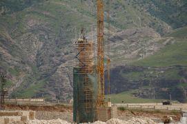 Hasankeyf'teki 650 yıllık Koç Camii yeni yerine yerleştiriliyor