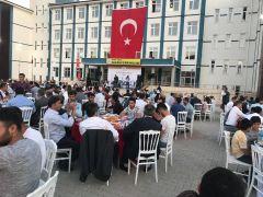 Kozluk'ta şehit aileleri ve gaziler onuruna iftar yemeği verildi