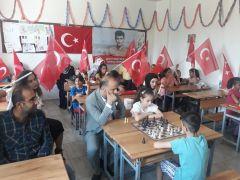 Batmanlı şehit asker Gülmez için satranç turnuvası düzenlendi