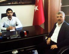 Gercüş Belediye Başkanı Günaydın'dan Dicle Elektrik'e ziyaret