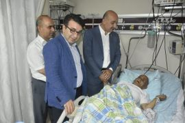 AK Parti Batman İl Başkanı Gür'den hasta ziyareti