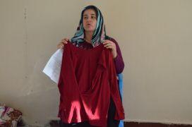 Babasından kalan mirası reddeden 8 aylık hamile kadının, eşi ve amcası tarafından darp edildiği iddiası