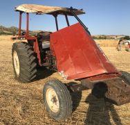 Kontrolden çıkan traktör takla attı: 6 ağır yaralı