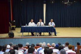Kaymakam Osman Bilici din görevlileriyle buluştu