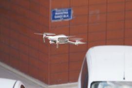 Trafikte droneli denetim