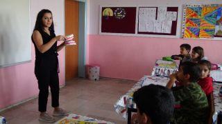 Gercüş'te öğrencilere ağız ve diş sağlığı eğitimi verildi