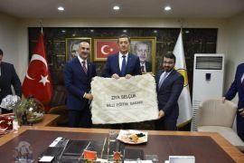 Bakan Selçuk AK Parti Batman teşkilatını ziyaret etti