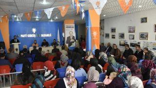 Gercüş'te AK Parti Danışma Meclisi toplantısı yapıldı