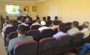 Gercüş'te arıcılık kursu açıldı