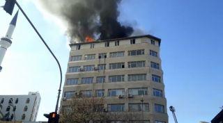 Batman'da korkutan yangın: dumanlar gökyüzünü kapladı