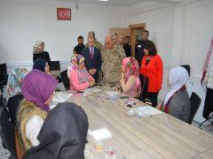 Diyarbakır Jandarma Bölge Komutanı Başoğlu'ndan Sason'a ziyaret
