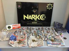 İş yerine uyuşturucu operasyonu: 2 gözaltı