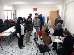ÇATOM çalışanları toplu kök hücre bağışında bulundu