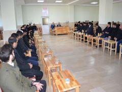 Kaymakam Özadalı imam ve vaizlerle bir araya geldi