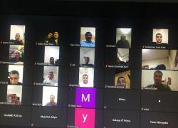 Gercüş'te online veli toplantısı düzenlendi