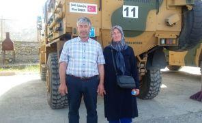 Operasyona oğullarının isminin verildiği şehit ailesinden Bakan Soylu ve Vali Şahin'e teşekkür