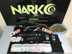 Batman'da uyuşturucu tacirlerine şafak operasyonu: 12 gözaltı