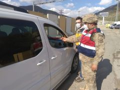 Kozluk'ta 9 adres karantinaya alındı
