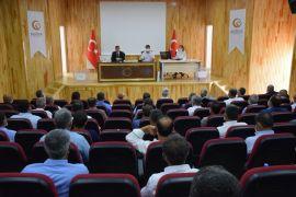 Kozluk'ta KHGB toplantısı