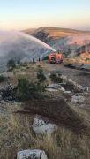 Hasankeyf'te çıkan yangında 2 bin dönümlük alan kül oldu