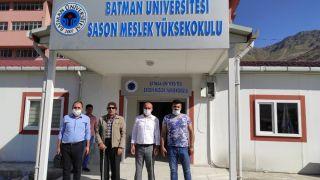 Sason MYO yeni binasında faaliyetlerine başladı