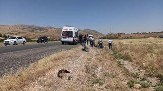 Trafik kazasında ağır yaralanan motosiklet sürücüsü 5 günlük yaşam savaşını kaybetti