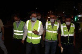 Batman Belediyesi çalışmalarına gece gündüz devam ediyor