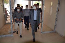 AK Parti Batman İl Başkanı Gür Sason'da incelemelerde bulundu