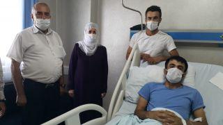 Hastanede kalbi durdu, 2 saatlik kalp masajı sonucu hayata tutundu