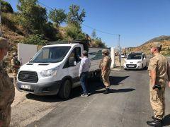 Sason'da jandarma sorumluluk alanındaki etkinliklere yasak getirildi