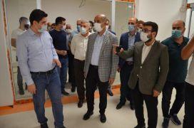 AK Parti Batman İl Başkanı Gür hastanede incelemelerde bulundu