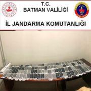 Batman'da 100 adet kaçak cep telefonu ele geçirildi
