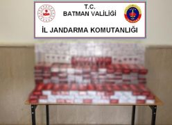 Batman'da 3 bin 780 paket kaçak sigara ele geçirildi