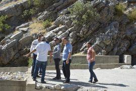 Kozluk'ta Küsket suyuna alternatif kaynak arayışı başlatıldı