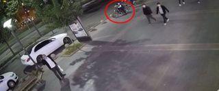 Park halindeki motosikleti kaşla göz arasında çaldı