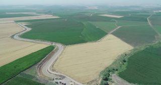 Batman'da 140 bin dekar tarım arazisi sulandı