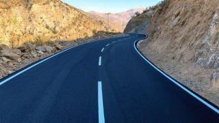 Sason Derince grup köy yolu tamamlandı