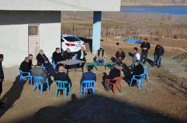 AK Parti Batman il teşkilatı Hasankeyf'te incelemelerden bulundu