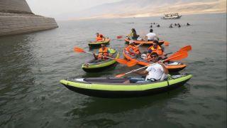 Hasankeyf su turizmi ile canlanıyor