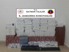 Batman'da 2 bin 567 paket kaçak sigara ele geçirildi